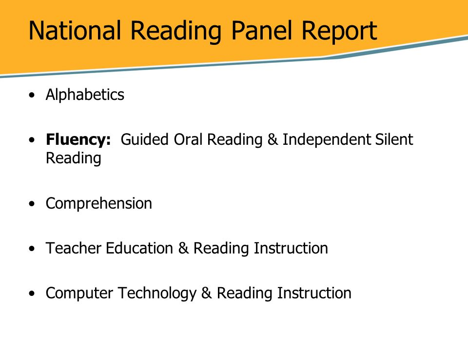 the effects of oral and silent reading to children essay The relationship between silent reading fluency and reading comprehension differed for average and skilled readers, δχ 2 (1) = 554, p  05, such that silent reading fluency had a suppressor effect on reading comprehension for average readers (γ = -21, p = 044) while silent reading fluency was not related to reading comprehension for.