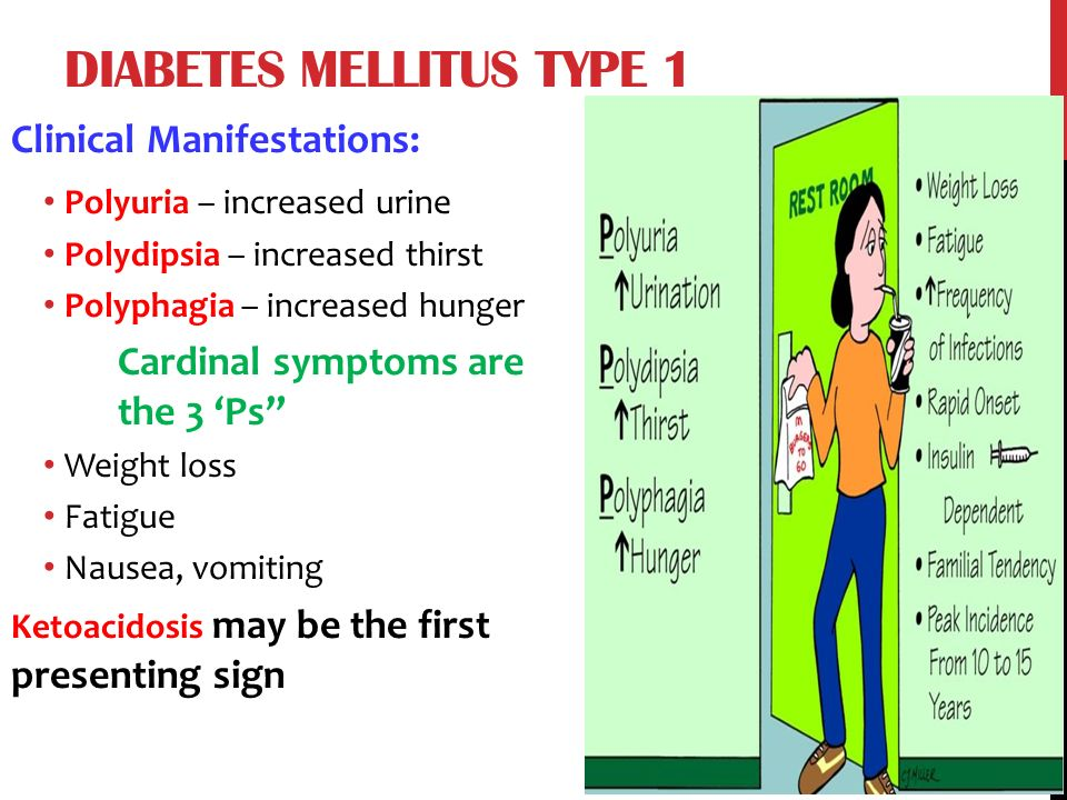 diabetes mellitus type 1 case study