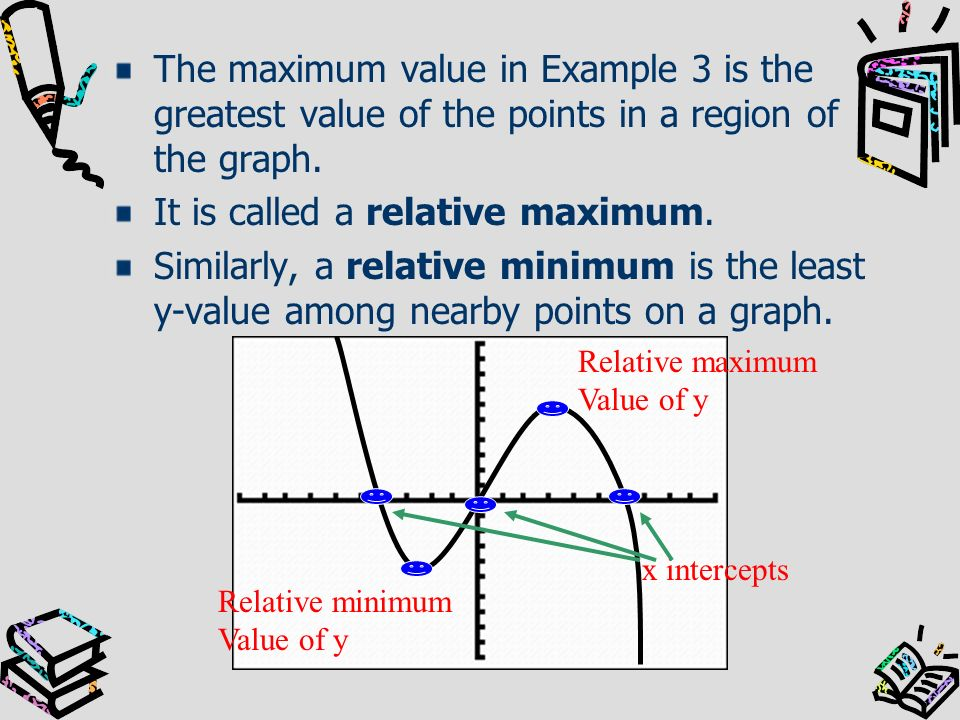 It is called a relative maximum.