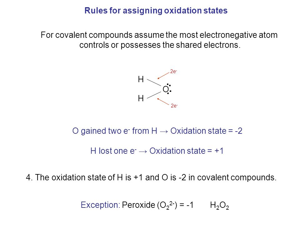 assigning oxidation states Assign the oxidation numbers of the atoms in the following  arrange the following compounds in order of increasing oxidation state for the carbon atom (a.