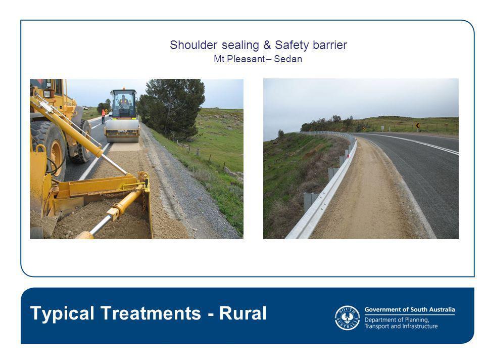 Shoulder sealing & Safety barrier
