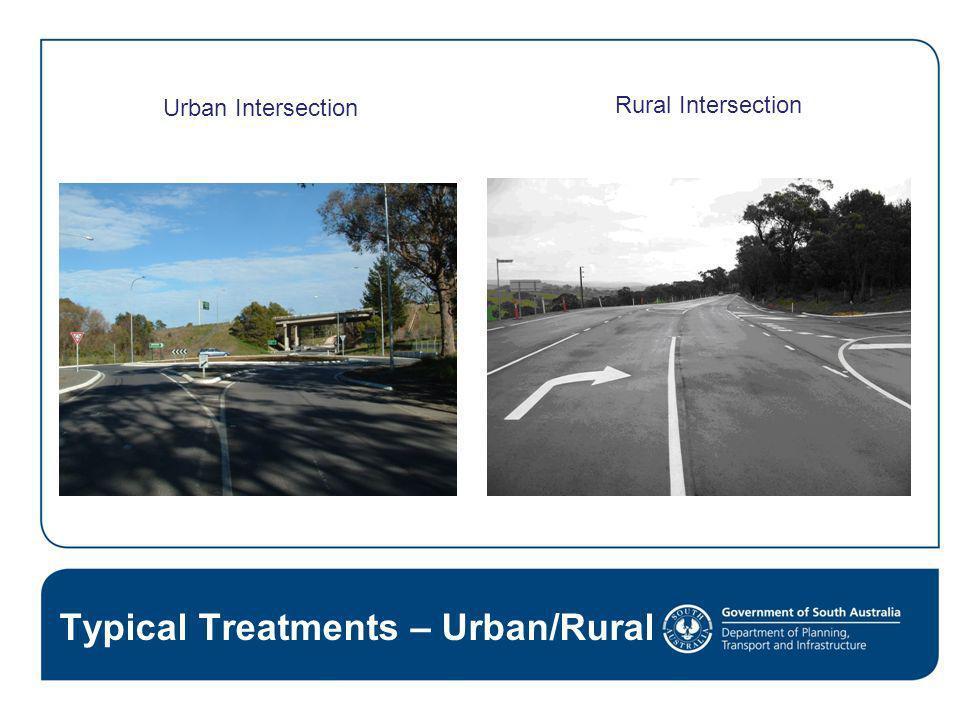 Typical Treatments – Urban/Rural