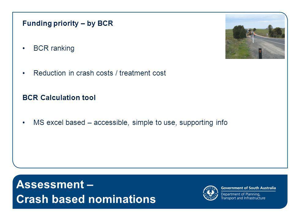 Crash based nominations