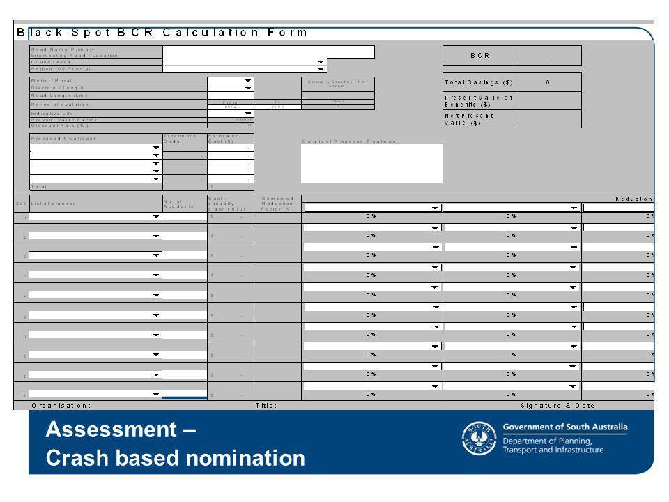 Crash based nomination