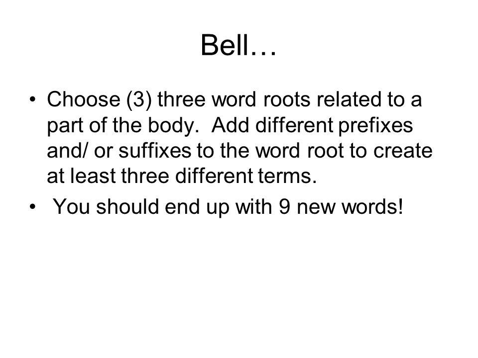 Bell…