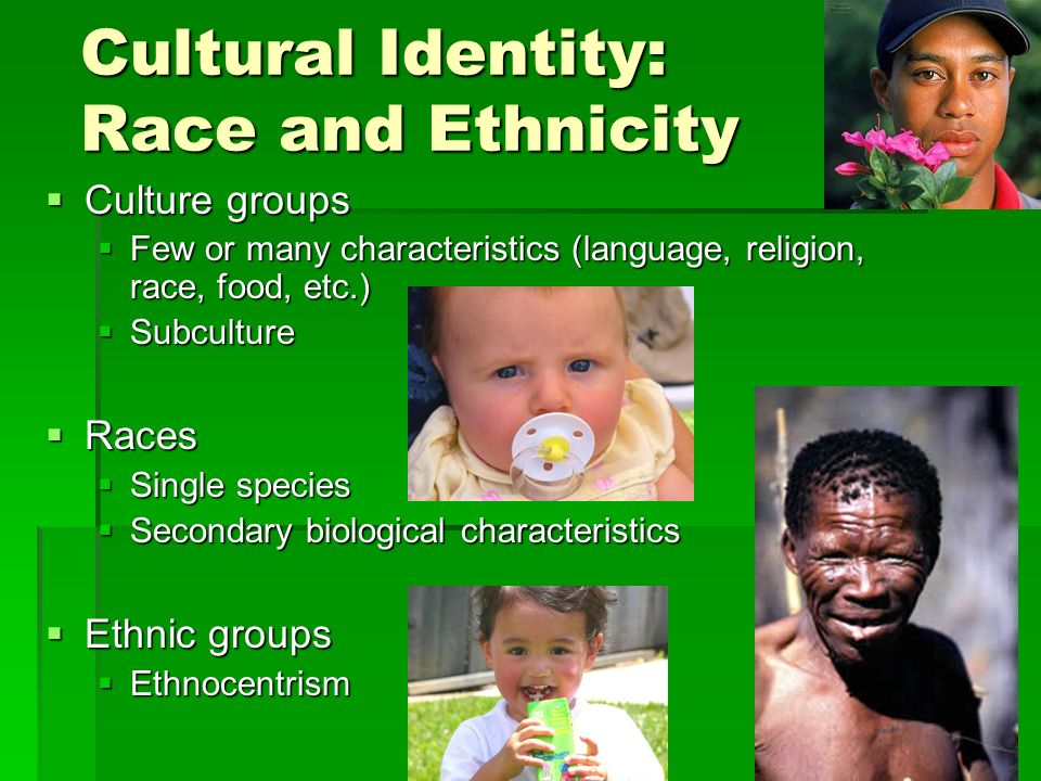 Difference Between Race and Culture