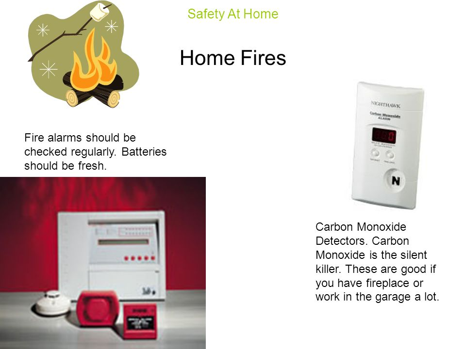 Home Fires Safety At Home