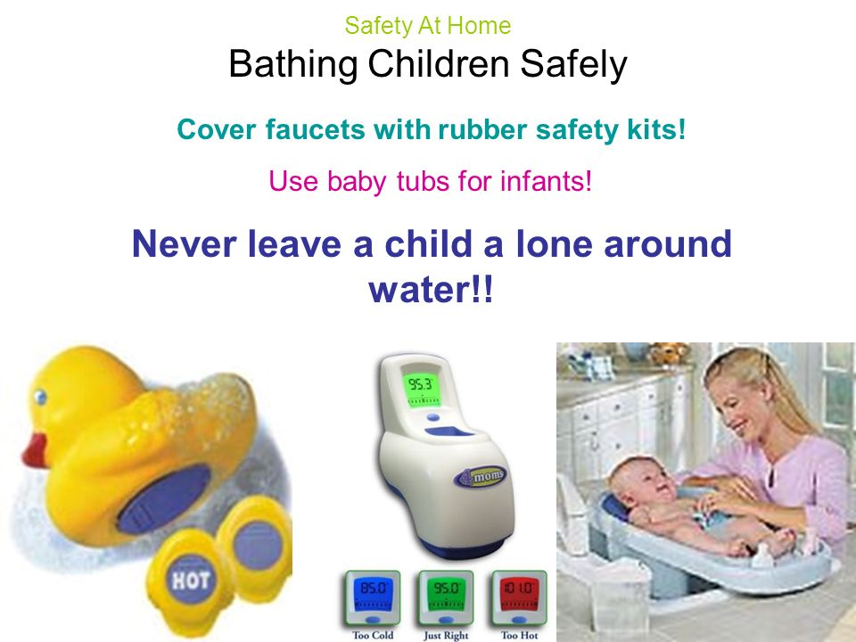 Never leave a child a lone around water!!