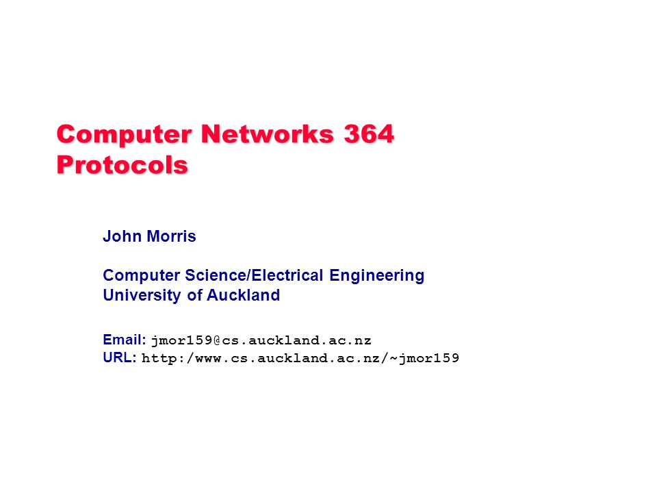 what is protocol in computer network pdf