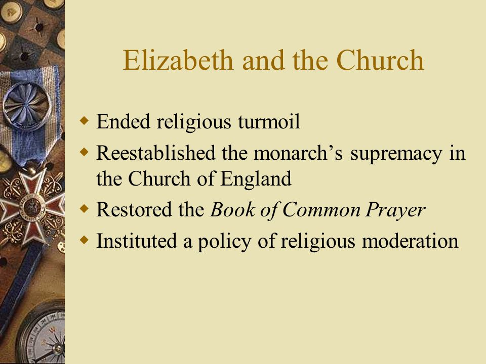 Elizabeth and the Church