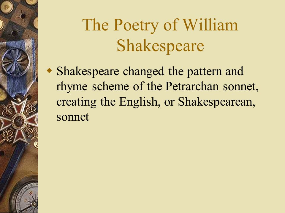 The Poetry of William Shakespeare