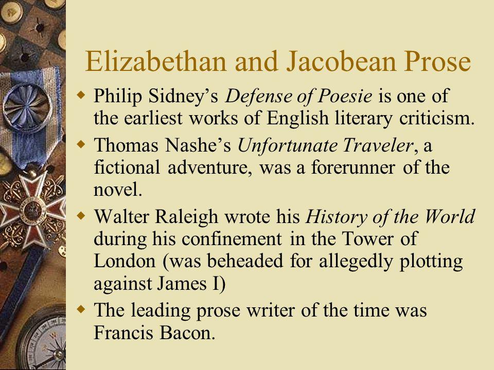 elizabethan prose writer 58 essays
