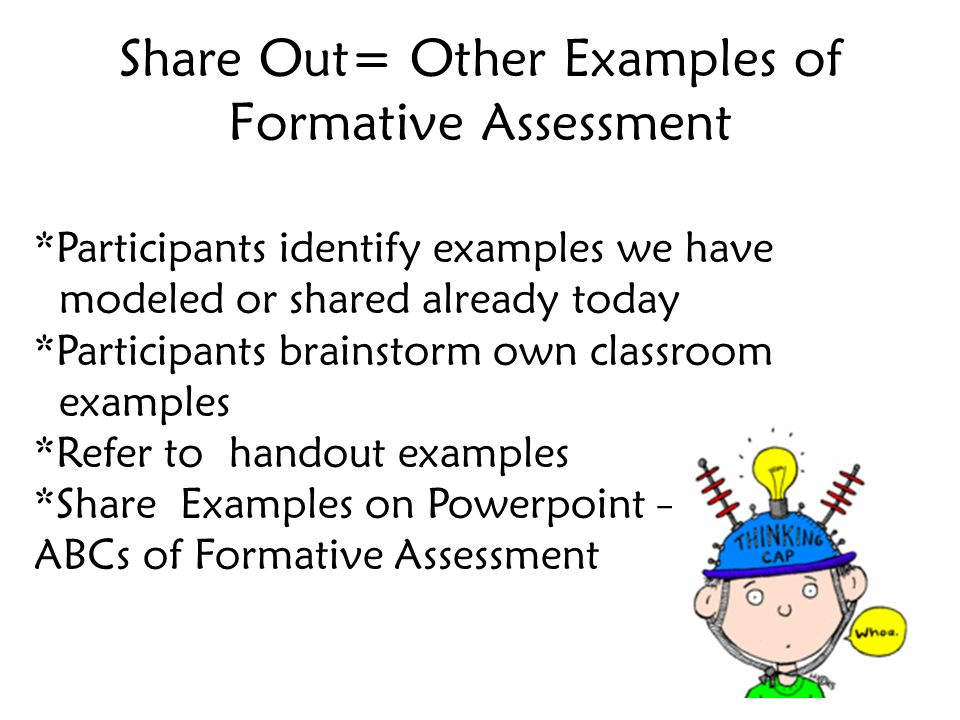 Formative Assessment Presentation By Lora Drum Mia Johnson Alycen