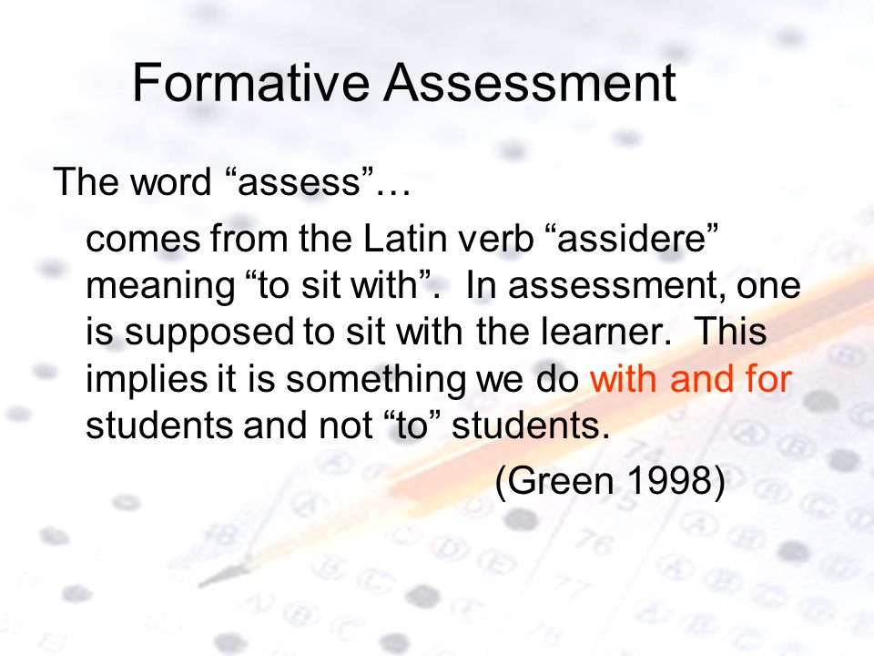 Formative Assessment Presentation By: Lora Drum, Mia Johnson