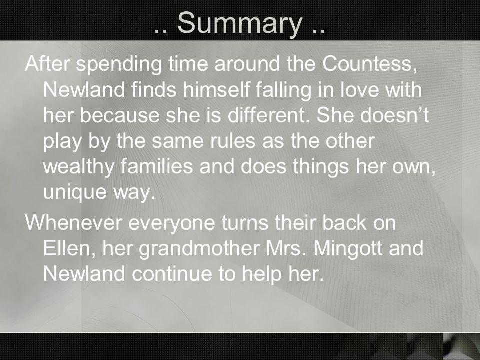 .. Summary ..