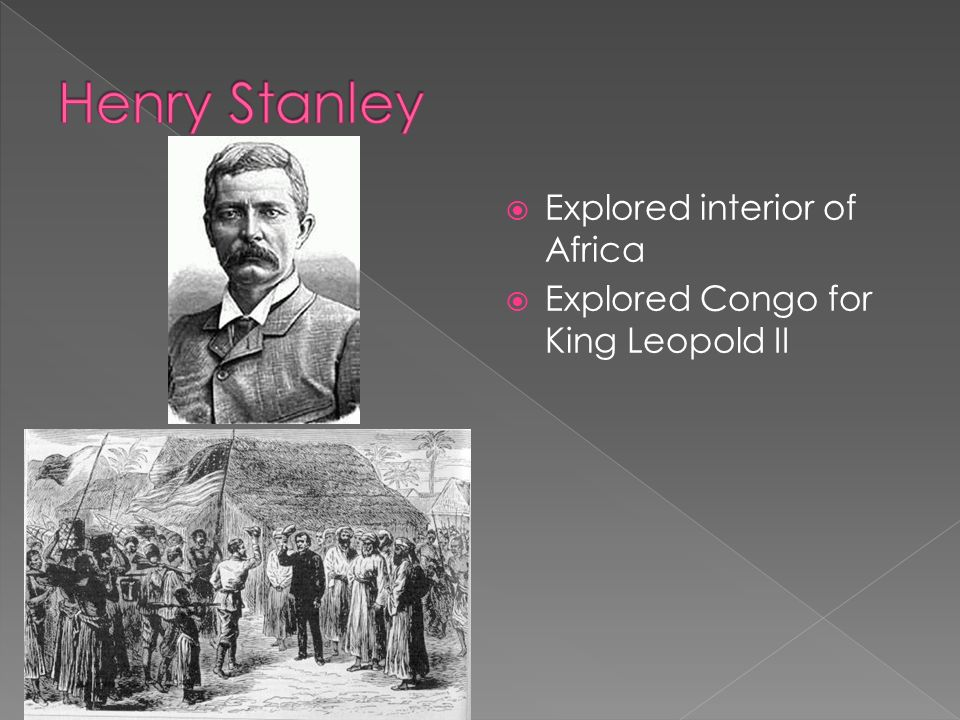 Henry Stanley Explored interior of Africa