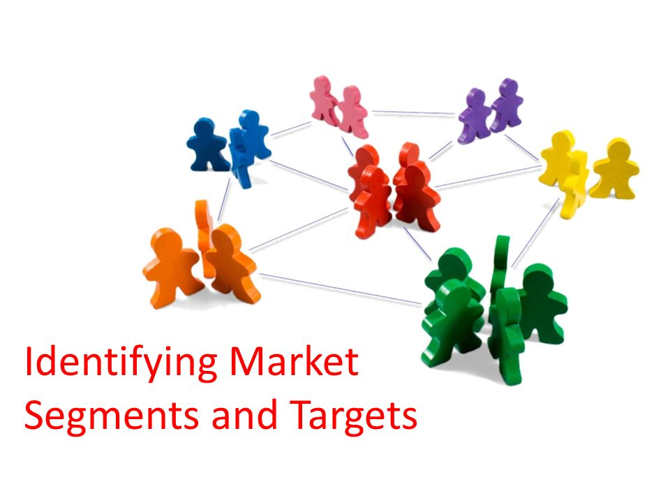identifying market segments and targets Market segmentation is an extension of market research that seeks to identify targeted groups of consumers to tailor products and branding in a way that is attractive to the group.