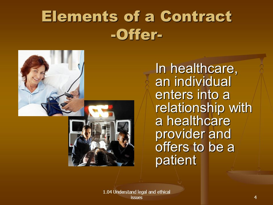 Elements of a Contract -Offer-