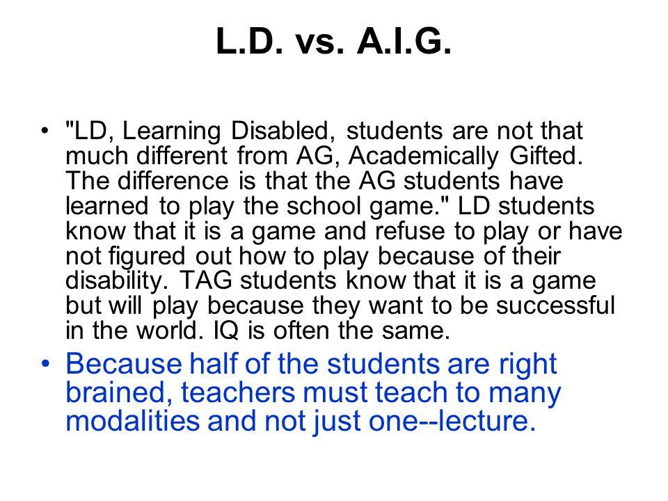L.D. vs. A.I.G.