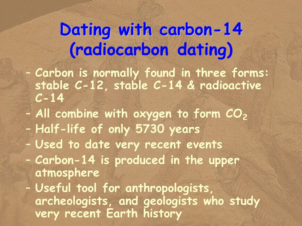When was radiocarbon dating first used