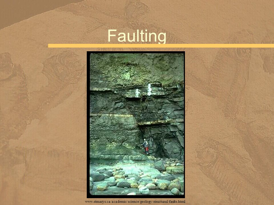 Faulting www.stmarys.ca/academic/science/geology/structural/faults.html