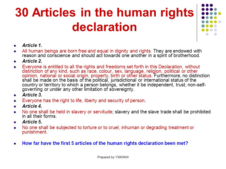 GENERAL PAPER Human rights Prepared by YSKHAW. - ppt download