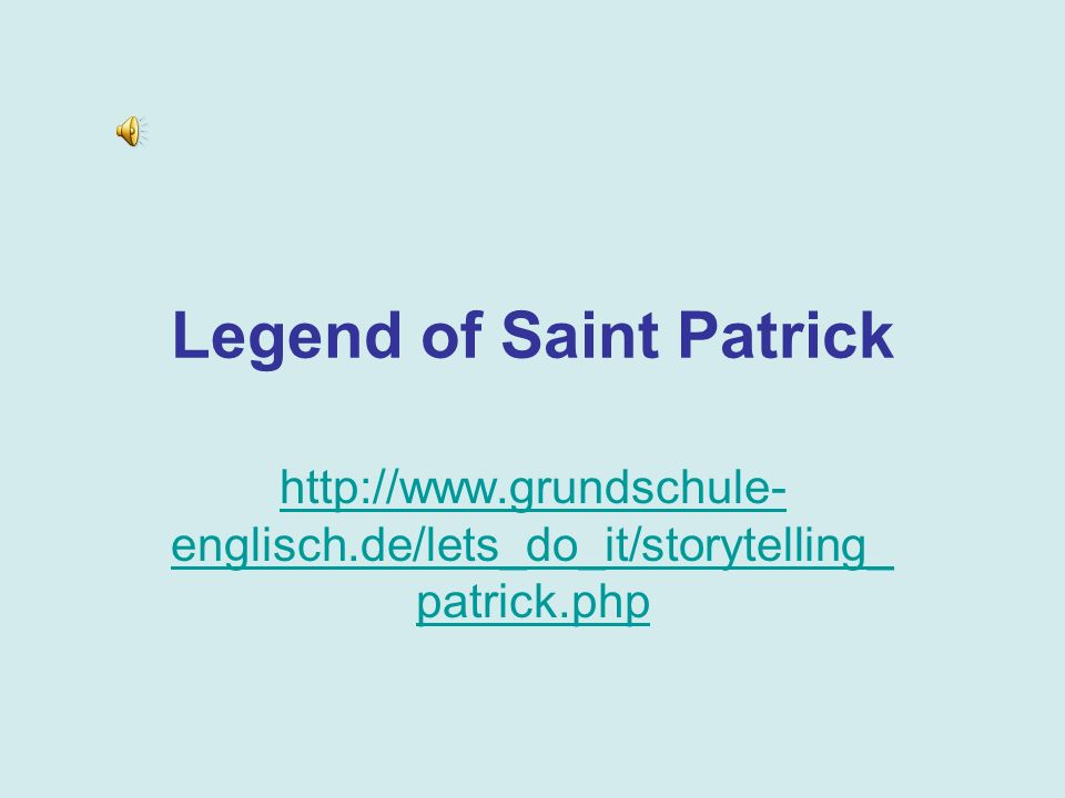 Legend of Saint Patrick