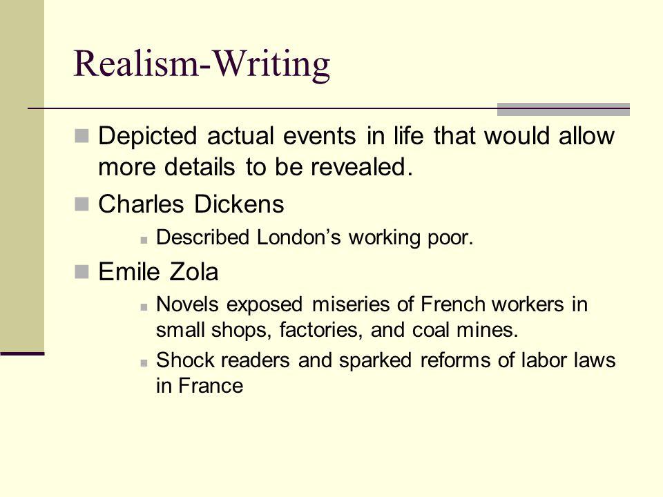 realism writing