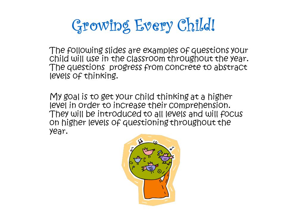 Growing Every Child!