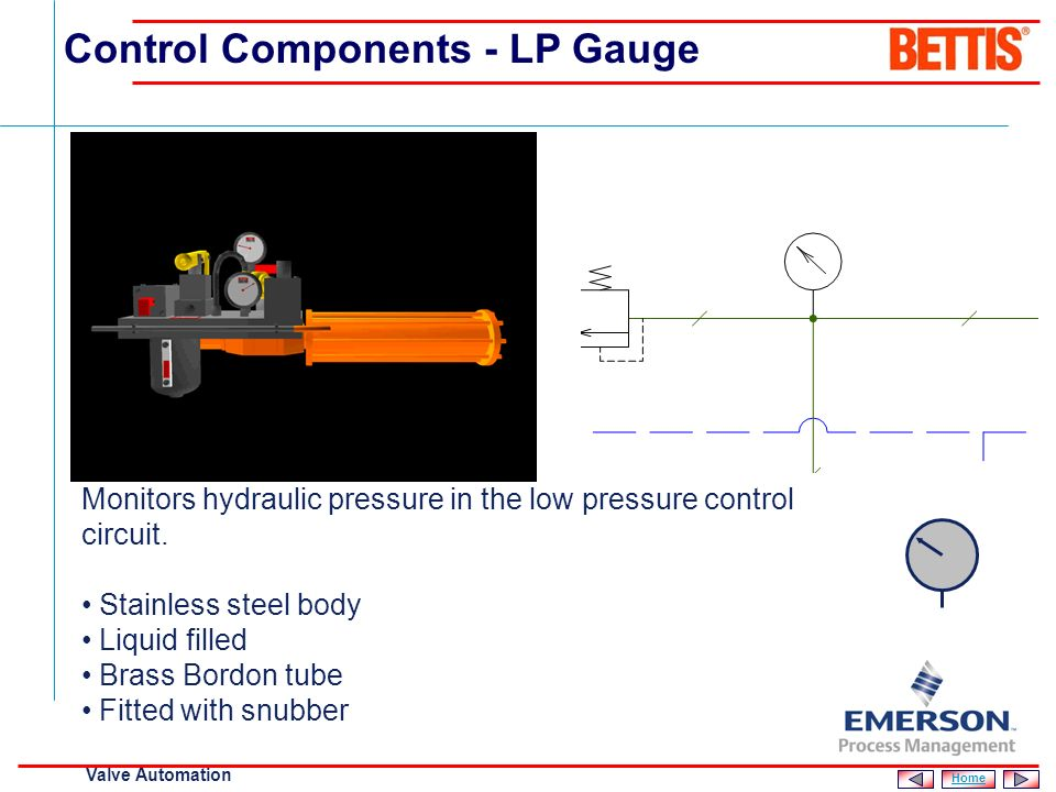 Control Components - LP Gauge
