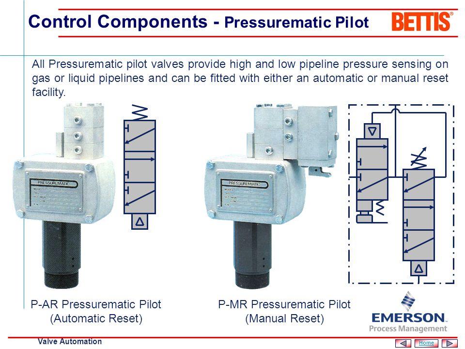 Control Components - Pressurematic Pilot