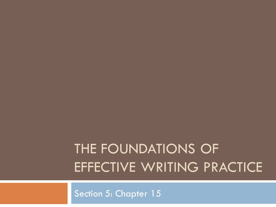 effective writing exercises Expressing your ideas in skillfully written sentences contributes greatly to the success of your writing as a whole and to exercise regularly correct: general guide for writing effective sentences author: callab last modified by: writing created date.