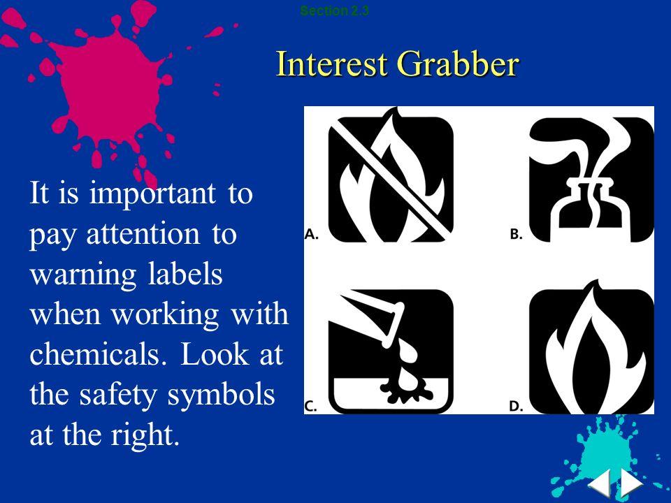 Section 2.3 Interest Grabber.