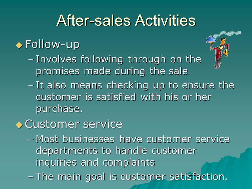 After-sales Activities