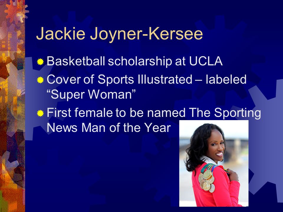 Jackie Joyner-Kersee Basketball scholarship at UCLA