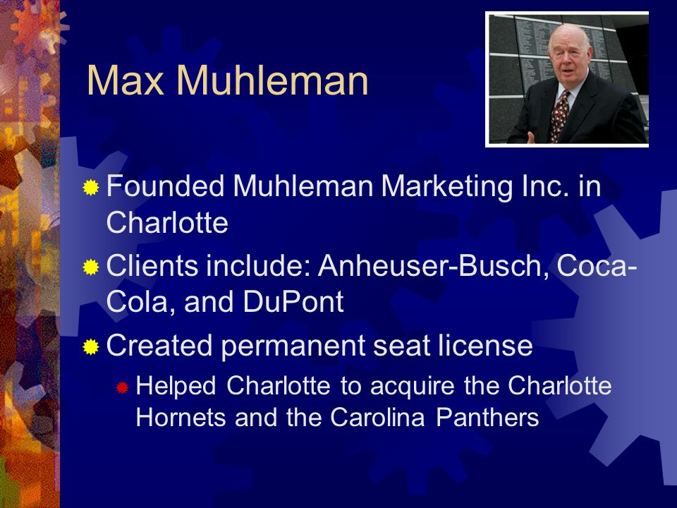Max Muhleman Founded Muhleman Marketing Inc. in Charlotte