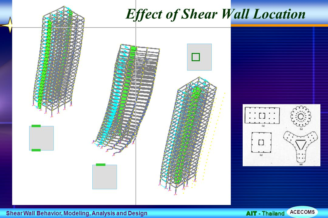 Shear Wall Design Download : Behavior modeling and design of shear wall frame systems
