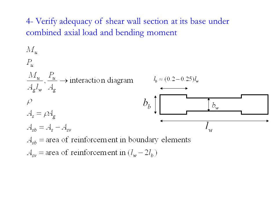 Reinforced Concrete Wall Design Example Top Beautiful Reinforced