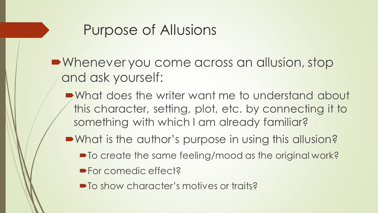purpose of creative writing
