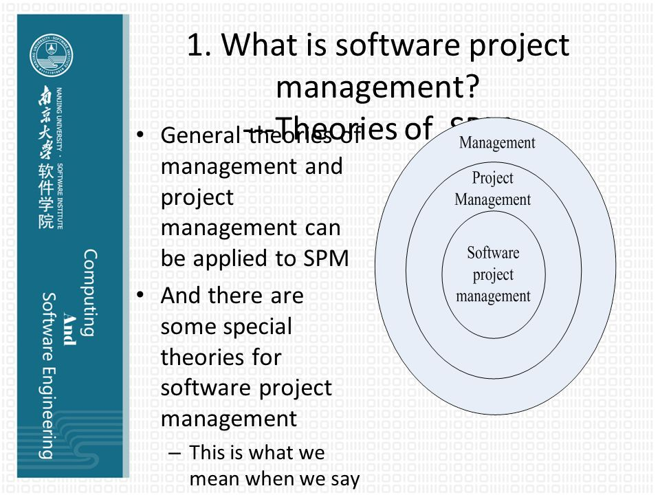project management theories Knowing project management theory – but without the skills to apply what we know is useless similarly, having the right tools and techniques.