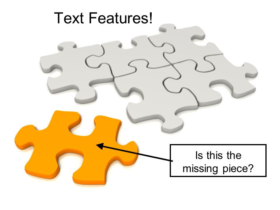 Is this the missing piece