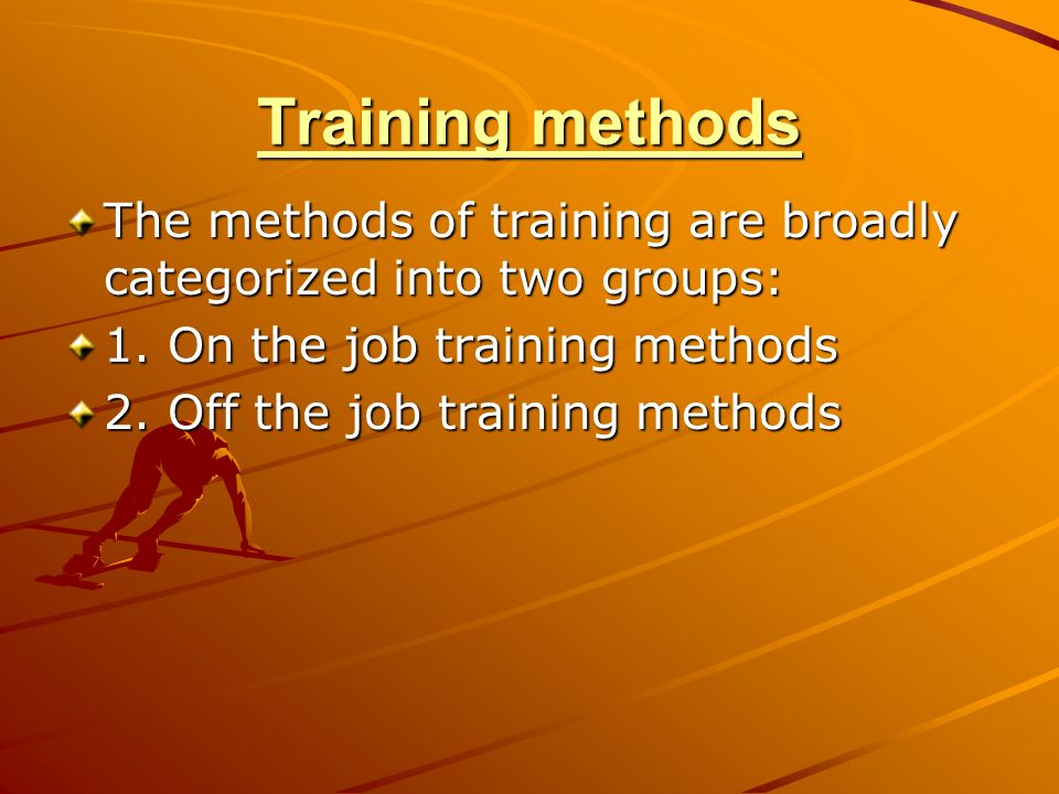 employee training various training methods Numerous canadian sector councils, inclusive of the electricity sector council,  have embarked on developing programs, resources and strategies related to.