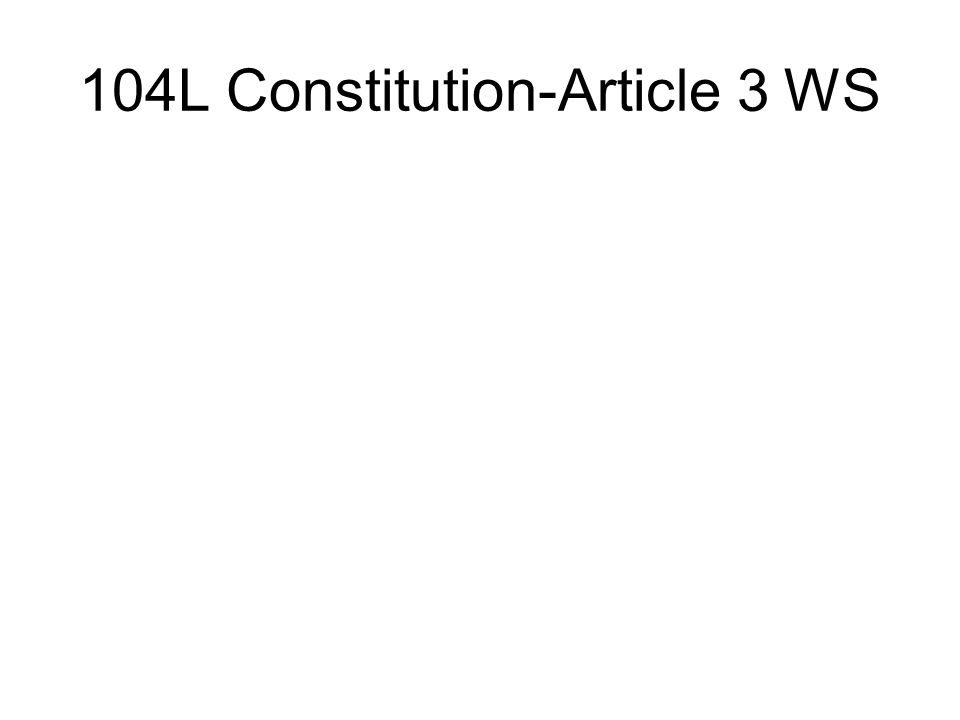 104L Constitution-Article 3 WS