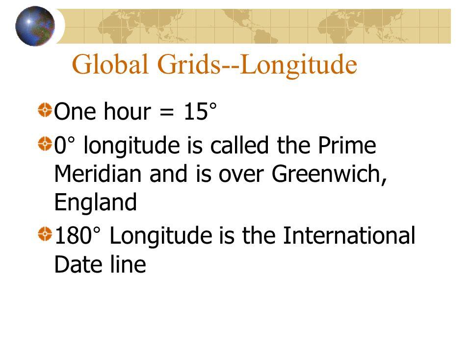 Global Grids--Longitude