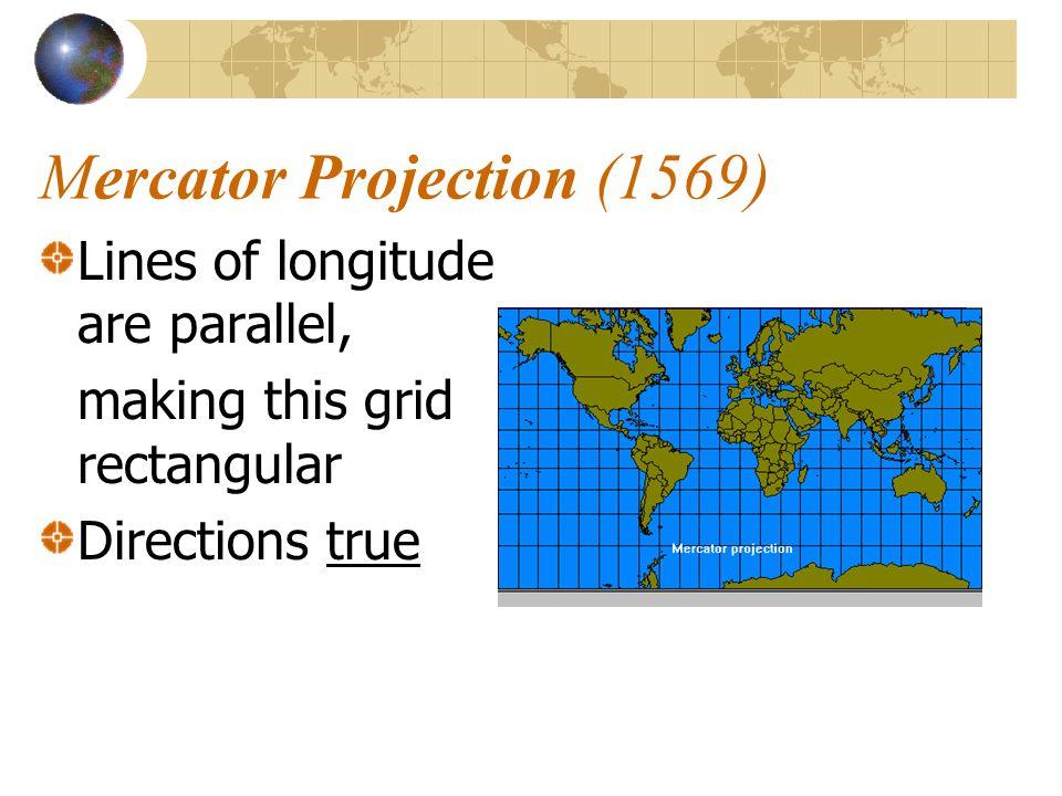 Mercator Projection (1569)