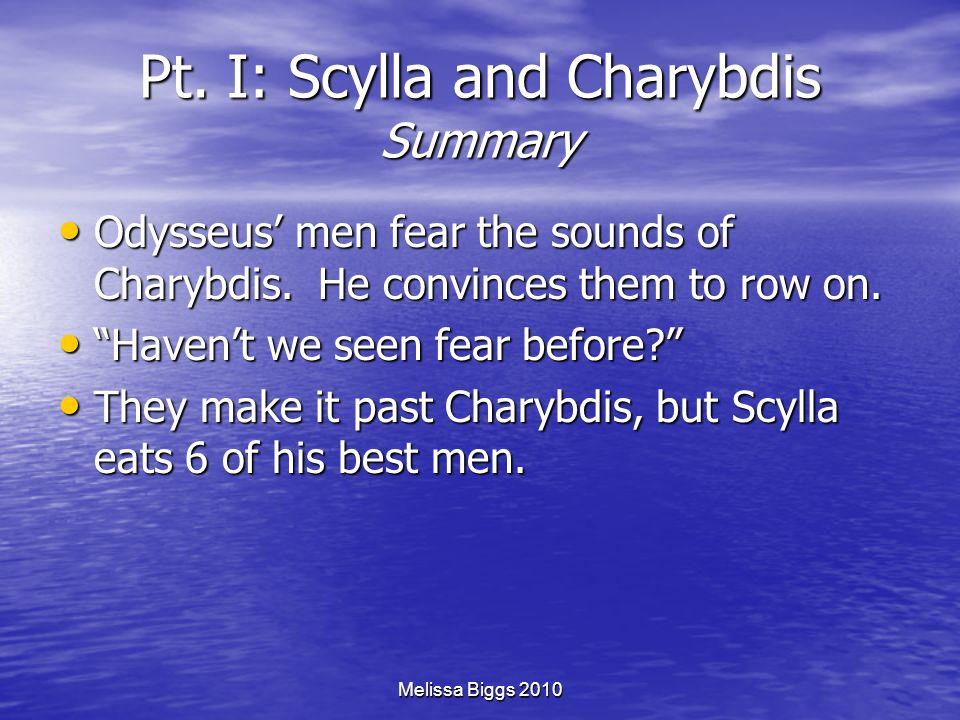 Pt. I: Scylla and Charybdis Summary
