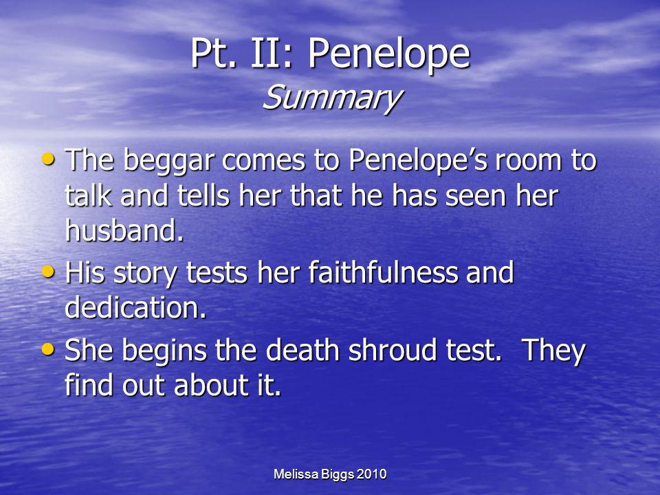 Pt. II: Penelope Summary