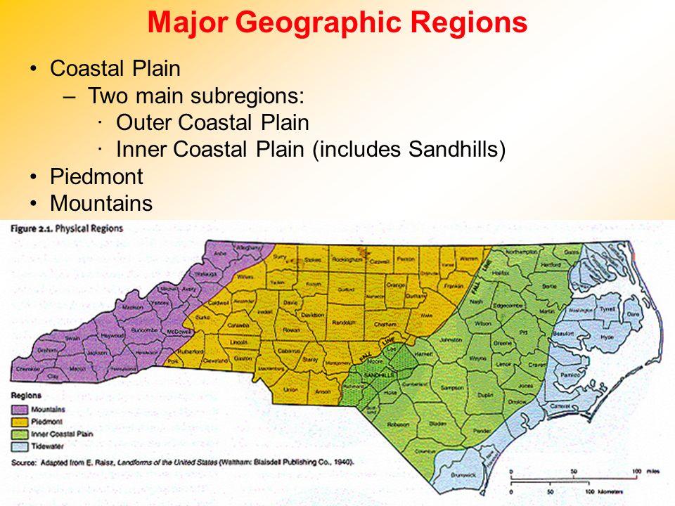 Major Geographic Regions