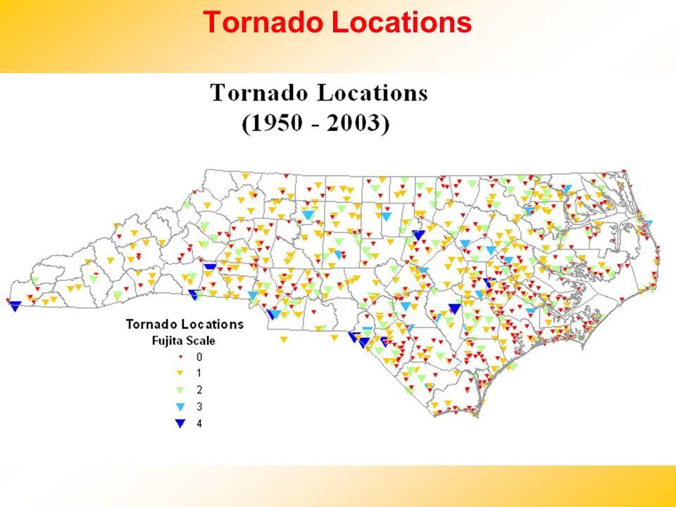 Tornado Locations