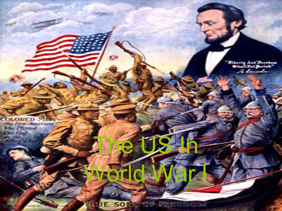 The US In World War I